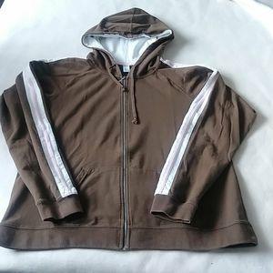 Foot Locker trio colour hoodie